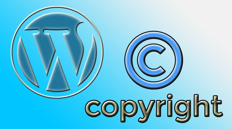 WordPress Copyright Silme