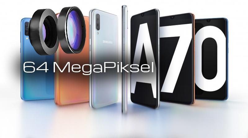 Galaxy A70s 64 Mp Kameralı Telefon