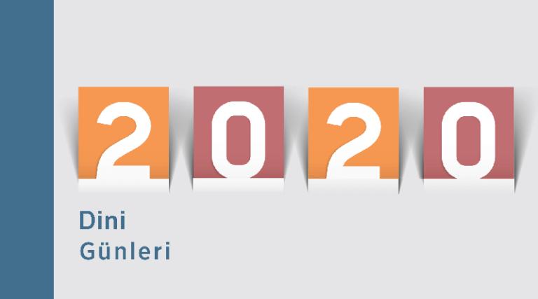 2020 Dini Günleri