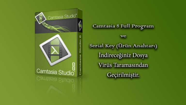 Camtasia 8 Full Program İndir